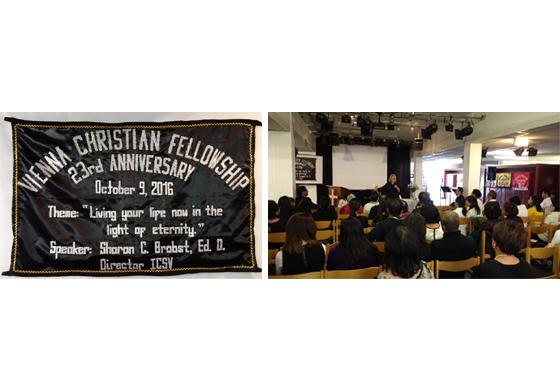 Vienna Christian Fellowship Celebrates 23 Years